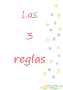 Las tres reglas