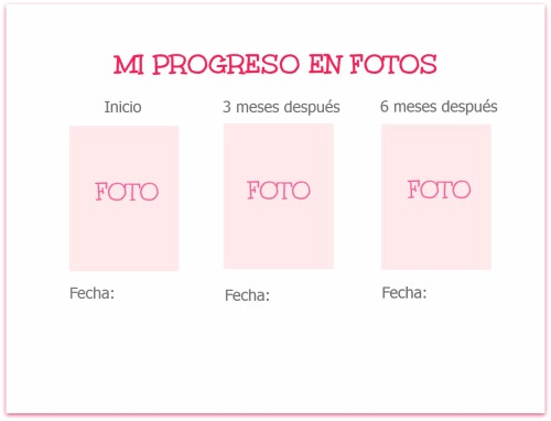 progreso en fotos