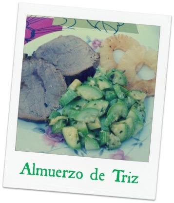 Almuerzo de Triz