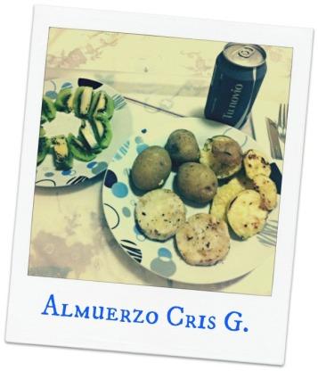 patatas merluza y calabacín
