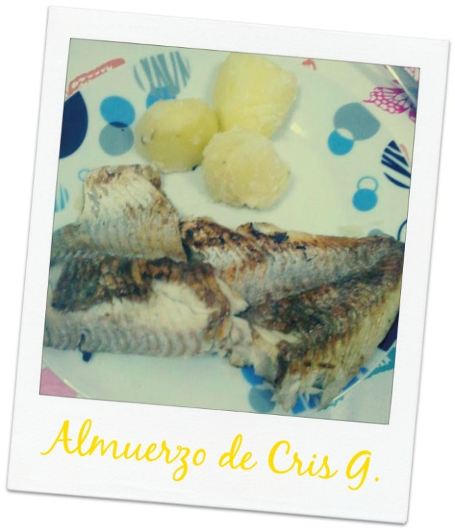 pescado y patatas