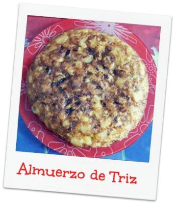 Tortilla al micro-horno