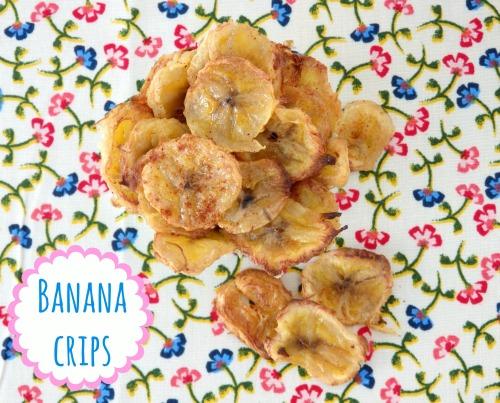 crips de plátano