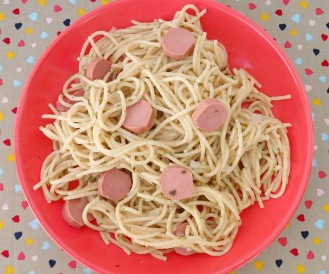 espaguetis en verde 2