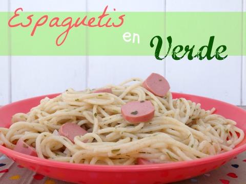 espaguetis en verde 1