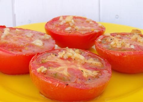 Tomates al ajillo 2