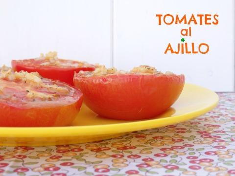 Tomates al ajillo 1